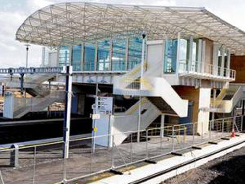 ROADWAY Completes Clongriffin Train Station