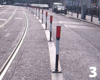 Flexi Bollards Hazzard Markers Amp Delineator Roadway