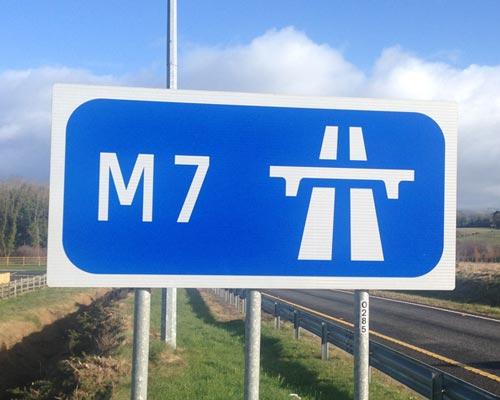 Motorway Signs Roadway